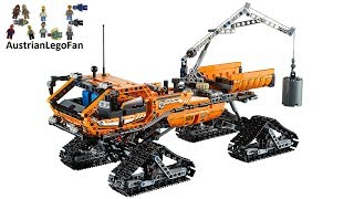 Lego Technic 42038 Arctic Truck / Arktis Kettenfahrzeug - Lego Speed Build Review