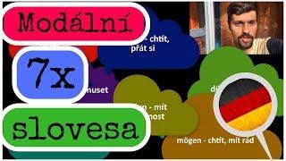 Modální slovesa němčina - (0/7) úvod