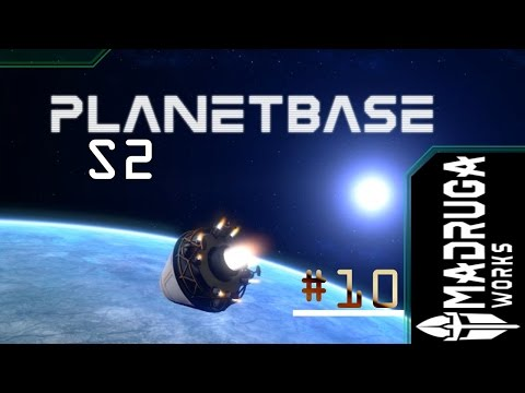 "Planetbase S2 - #10 ""Colossal Solar Panels"""