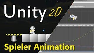 #2 Unity 2D Spieler-Animationen erstellen - Tutorial
