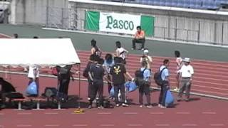 2006年 第85回 関東インカレ 2部 男子 4x400mR 決勝