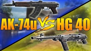 AK-74u VS HG 40 (Call of Duty Black Ops 3 SMG Weapons Versus) thumbnail
