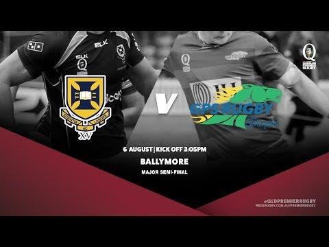 Queensland Premier Rugby: Major Semi Final