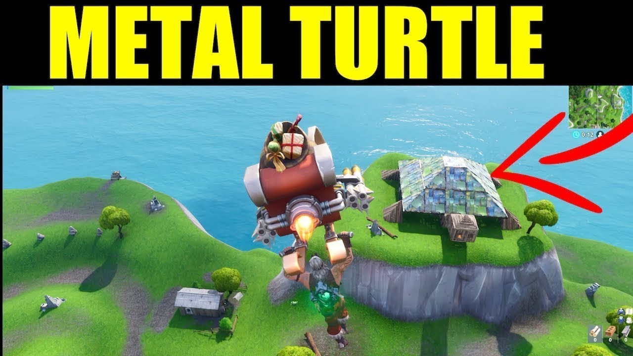 Dance On Top Of A Metal Turtle Location Fortnite Battle Royal