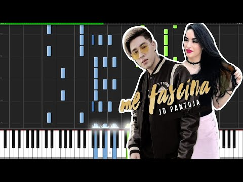 JD Pantoja - Me Fascina (Video Official) PIANO TUTORIAL MIDI