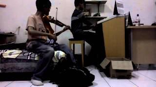 Spontaneous Me (Lindsey Stirling Cover) With Budiono Adisantosa