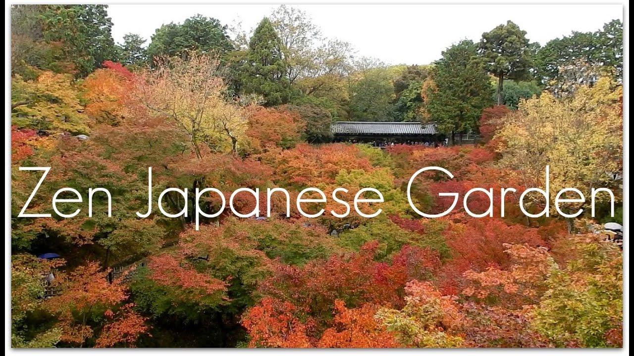 Beautiful Autumn In Zen Garden, Japan - YouTube