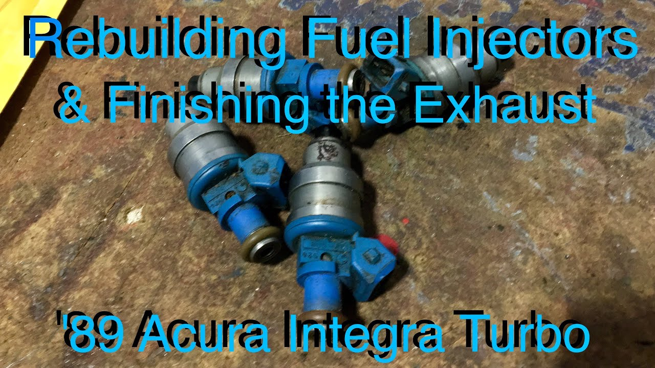 D16 Turbo - Rebuilding DSM Injectors - '89 Acura Integra Turbo