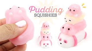 How to Make Shiny and Satisfying Pudding Squishies