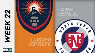 Lansing Ignite FC vs. North Texas SC: August 22nd, 2019
