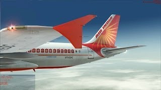 "[FSX] Air India going to the ""roof of the world""."