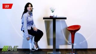 Барный стул Lily. Обзор мебели от amf.com.ua