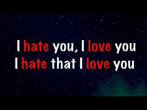 I Hate You, I Love You (Lyrics) - Gnash Ft. Olivia O'Brien