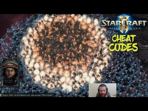 Starcraft 2 – Cheat Codes!