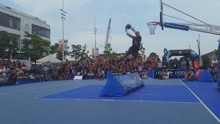 Streetball Masters 2014 Dunk Contest Amsterdam (Slo-Mo Highlights)