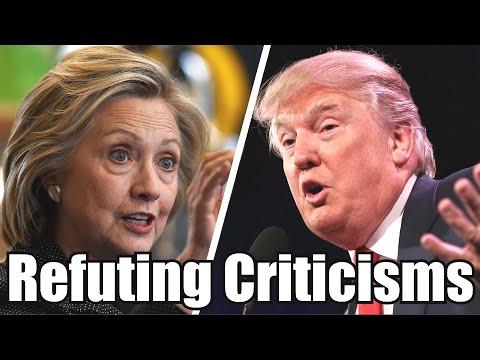 Refuting Criticisms Why Trump Will (Probably) Win/Hillary Lose