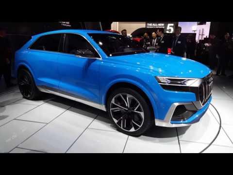 Audi Q8 Concept Detroit Auto Show