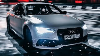 Action: Audi Rs7! 605 Сил И 3.7 С До 100 Км/Ч! Боком На V8 4.0 Biturbo & Quattro!) Сумасшедшая Ауди…