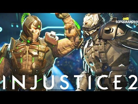 The Most Insane Bane Mirror Ever! - Injustice 2 Mirror Match Challenge