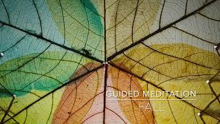 FALL: 5 Minute Guided Meditation | A.G.A.P.E. Wellness