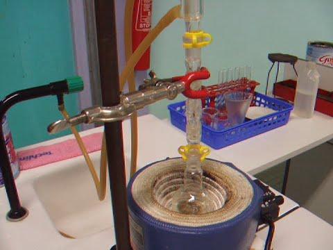 Synthèse De L'acétate De Linalyle Ou Arôme De Lavande,Synthesis Of Linalyl Acetate,lavender Aroma.