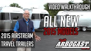 2015 Airstream Trailers Video Walkthrough | Dave Arbogast Rv Depot