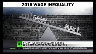 Income Inequality Continues to Surge