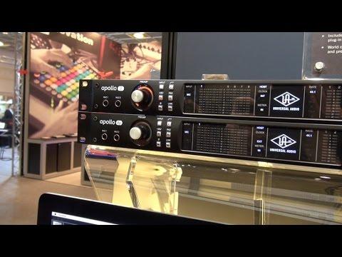 [Musikmesse] Universal Audio Apollo 8 & 8p (français)