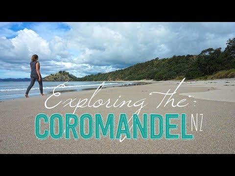 Coromandel, New Zealand   New Chums Beach   Port Jackson   Stony Bay