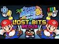 Super Mario Sunshine LOST BITS REDUX | Cut Content & Unseen Secrets (ft. DPadGamer) [TetraBitGaming]