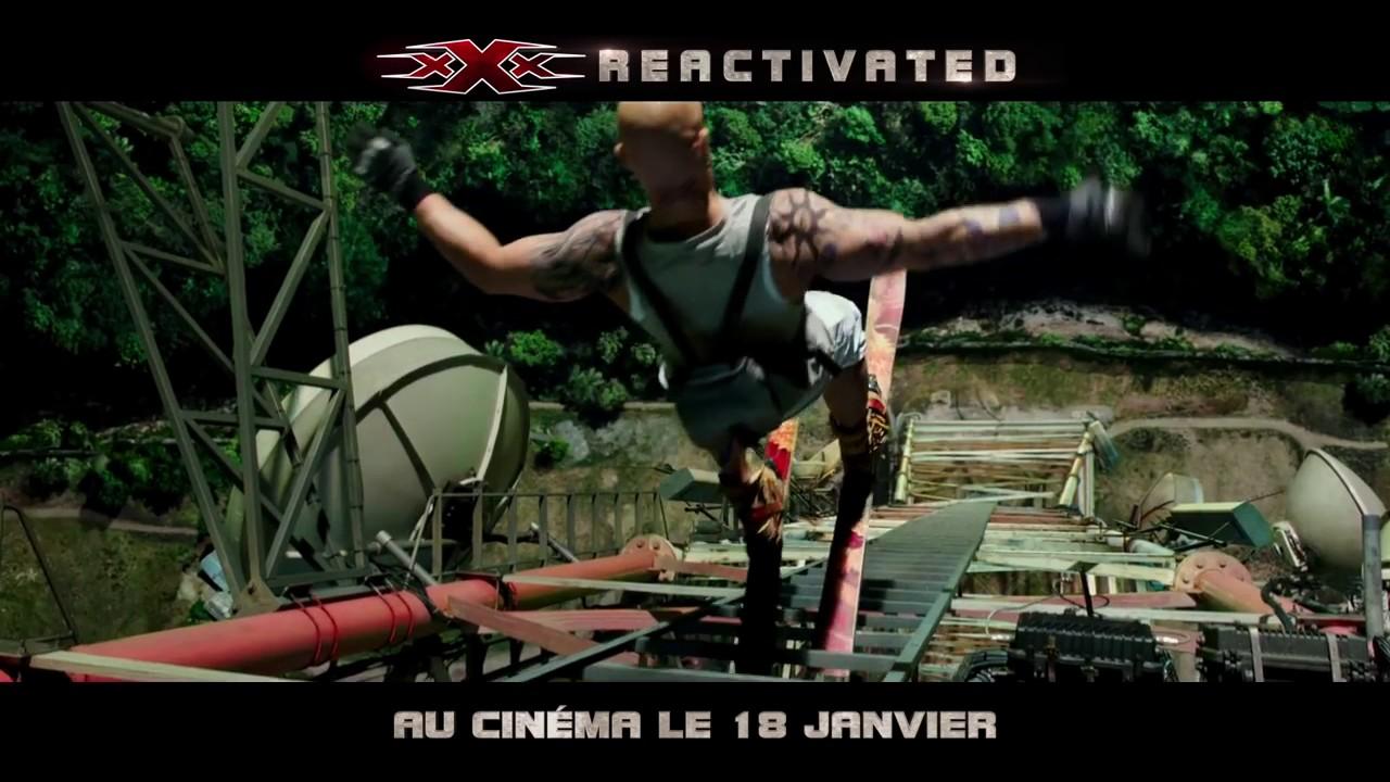 Download xXx  REACTIVATED   Première bande annonce VF au cinéma le 18 janvier 2017