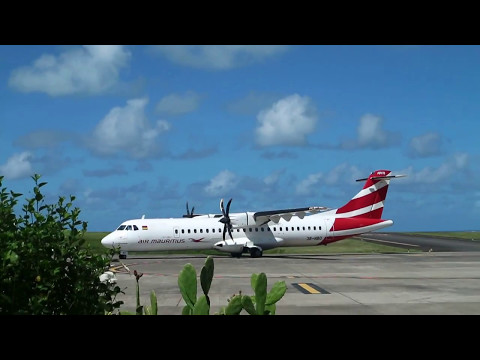 Another plane landed on Rodrigues Island 1.4.2017