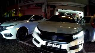 2017 Johor Honda Civic X (JBFC Club), Malaysia | 9th Gathering & Buffet Session