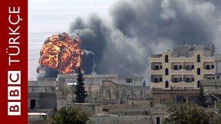 Çatışmaların şiddetlendiği Kobani
