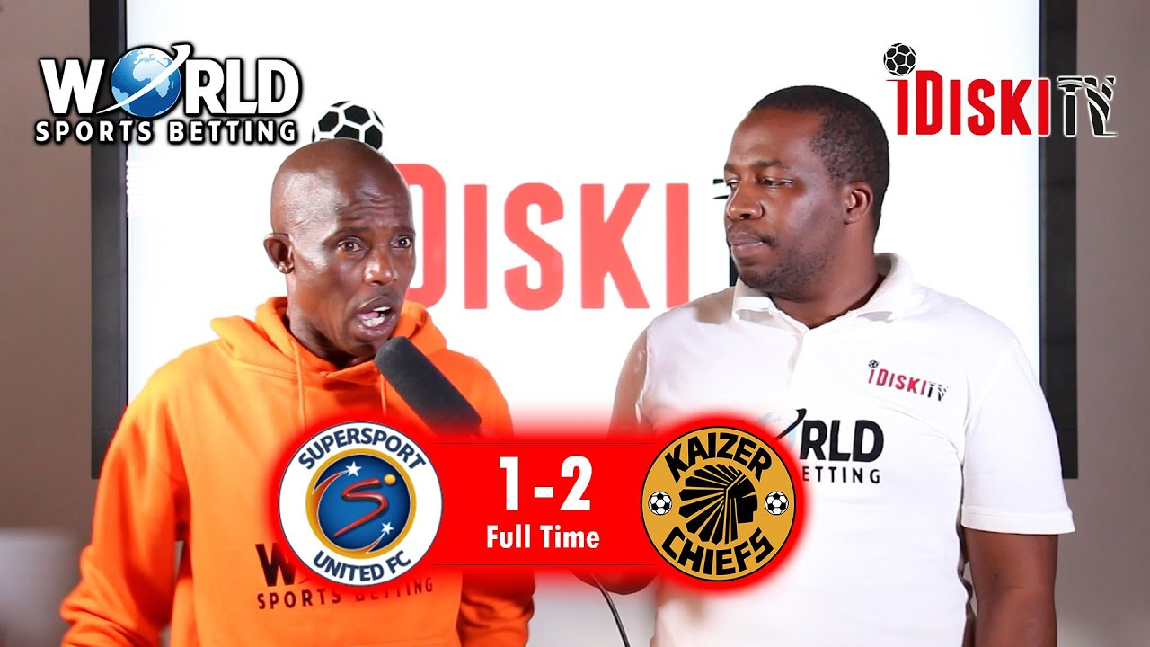 Download Supersport 1-2 Kaizer Chiefs   I Never Expected A Chiefs Win   Junior Khanye