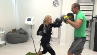 видео EMS тренировки в Москве - что такое эмс? / бесплатные тренировки