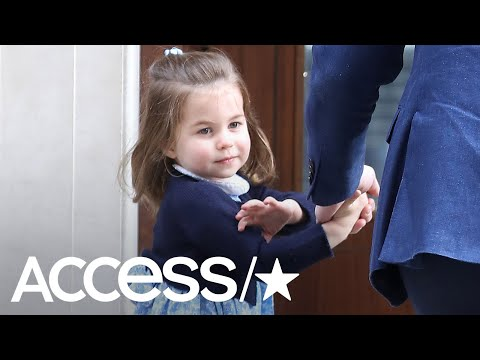 Princess Charlotte Is Already Into Fashion According To Prince William! | Access
