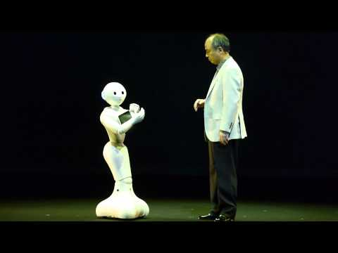 Watch Pepper, Softbank's Humanoid Robot, Dance And Accept Glowing Balls