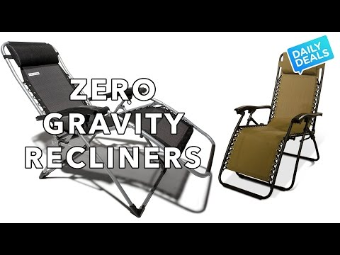 $80 For Two Zero Gravity Lounge Chairs - The Deal Guy