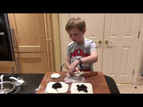 Making Eccles Cakes With Jack