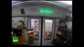 Китайский бегун показал, как обогнать метро!
