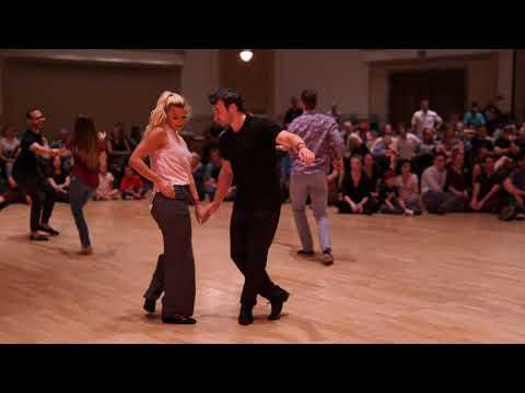 West Coast Swing | Cameron Crook + Mikaila Finley | Allstar JnJ Prelim - Desert City Swing 2019