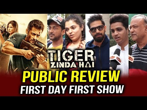 Tiger Zinda Hai PUBLIC REVIEW | First Day...