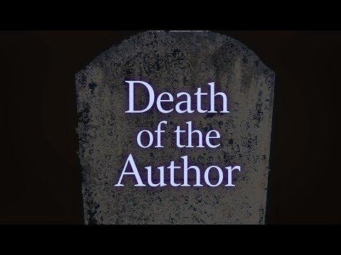The Theorist's Handbook - Death of the Author