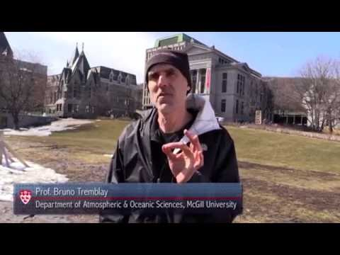 Arctic Climate Change: Prof Bruno Tremblay (March 2016)