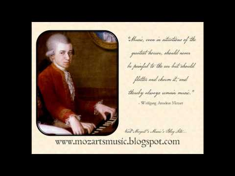 W. A. Mozart - Clarinet Concerto In A Major, K. 622 - First Movement - Allegro