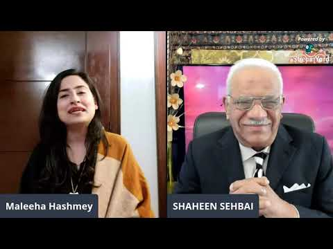 Maleeha Hashmi: Is PTI Government Safe or in Danger? [Shaheen Sehbai Exclusive]