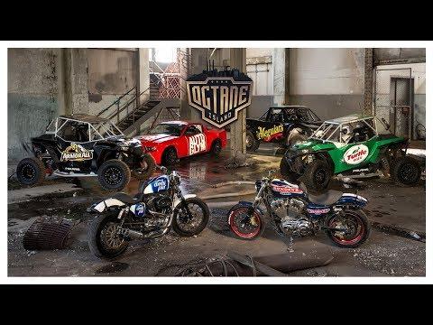 HARLEY vs DRIFT CAR vs BUGGY vs TRUCK - OCTANE ISLAND VOL. 2!!