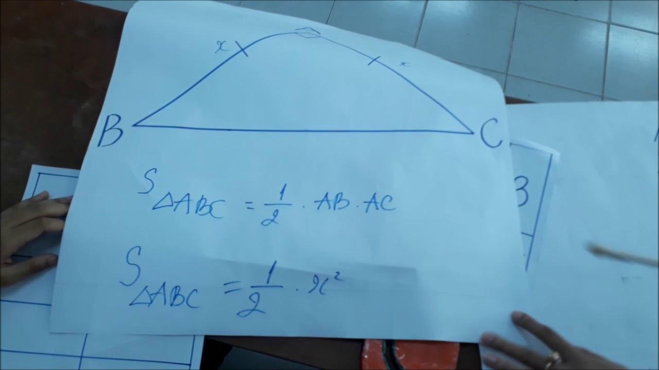 Hoạt động hình thành công thức Parabol
