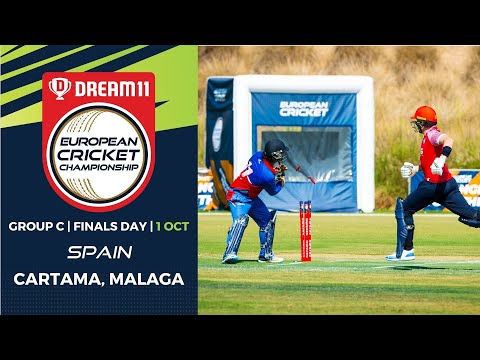 🔴 Dream11 European Cricket Championship | Group C Finals Day Cartama Oval Spain | T10 Live Cricket